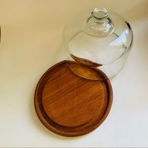Wood & glass